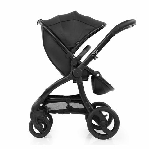 egg Stroller - Black with Jurassic Black - Strollers - Natural Baby Shower