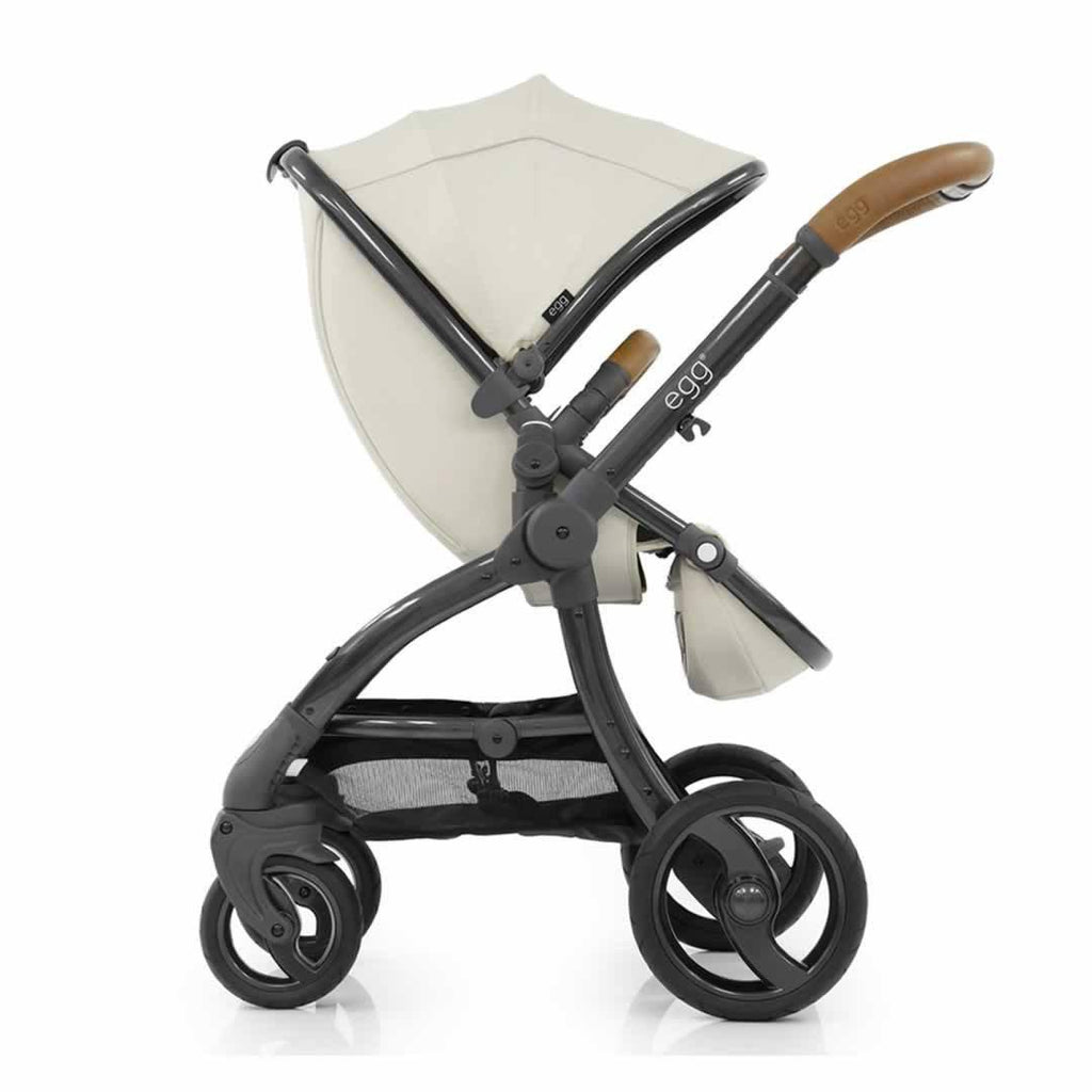 egg Stroller Gun Metal with Jurassic Cream