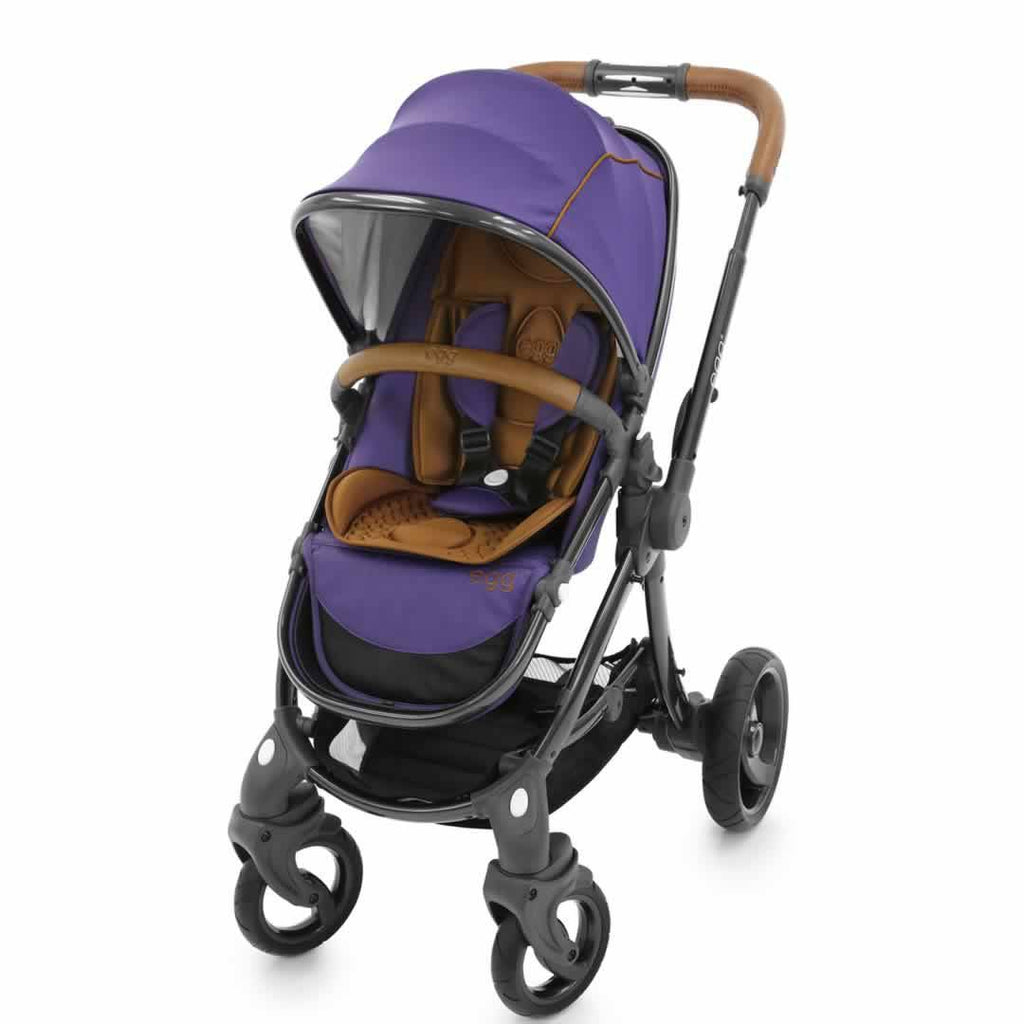 egg Stroller - Gothic Purple Front