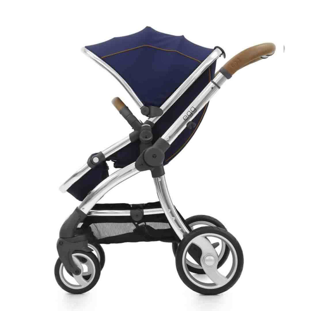 egg Stroller Mirror with Regal Navy