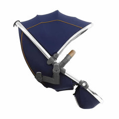 egg Tandem Seat in Mirror with Regal Navy