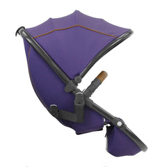 egg Tandem Seat Gun Metal with Gothic Purple