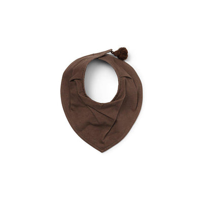 Elodie Details Dry Bib - Chocolate-Bibs- Natural Baby Shower