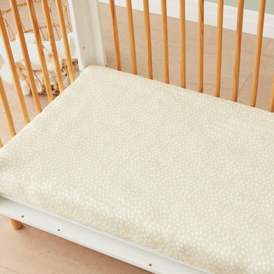 ergoPouch Bamboo Stretch Sheet - Fawn-Sheets-Fawn- Natural Baby Shower