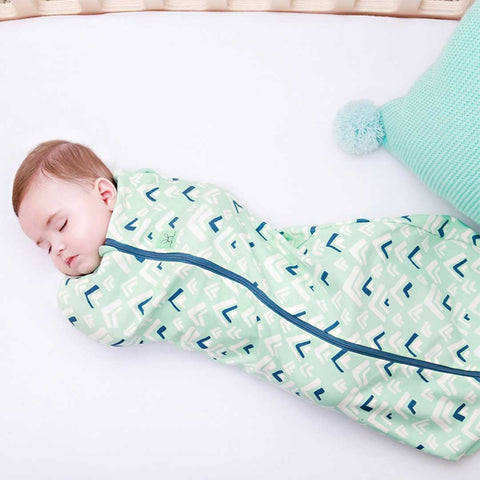 ergoPouch ErgoCocoon - 1 TOG - Mountains-Swaddling Wraps- Natural Baby Shower