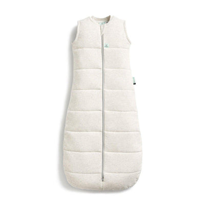 ergoPouch Jersey Sleeping Bag - 2.5 TOG - Grey Marle-Sleeping Bags-8-24m-Grey Marle- Natural Baby Shower