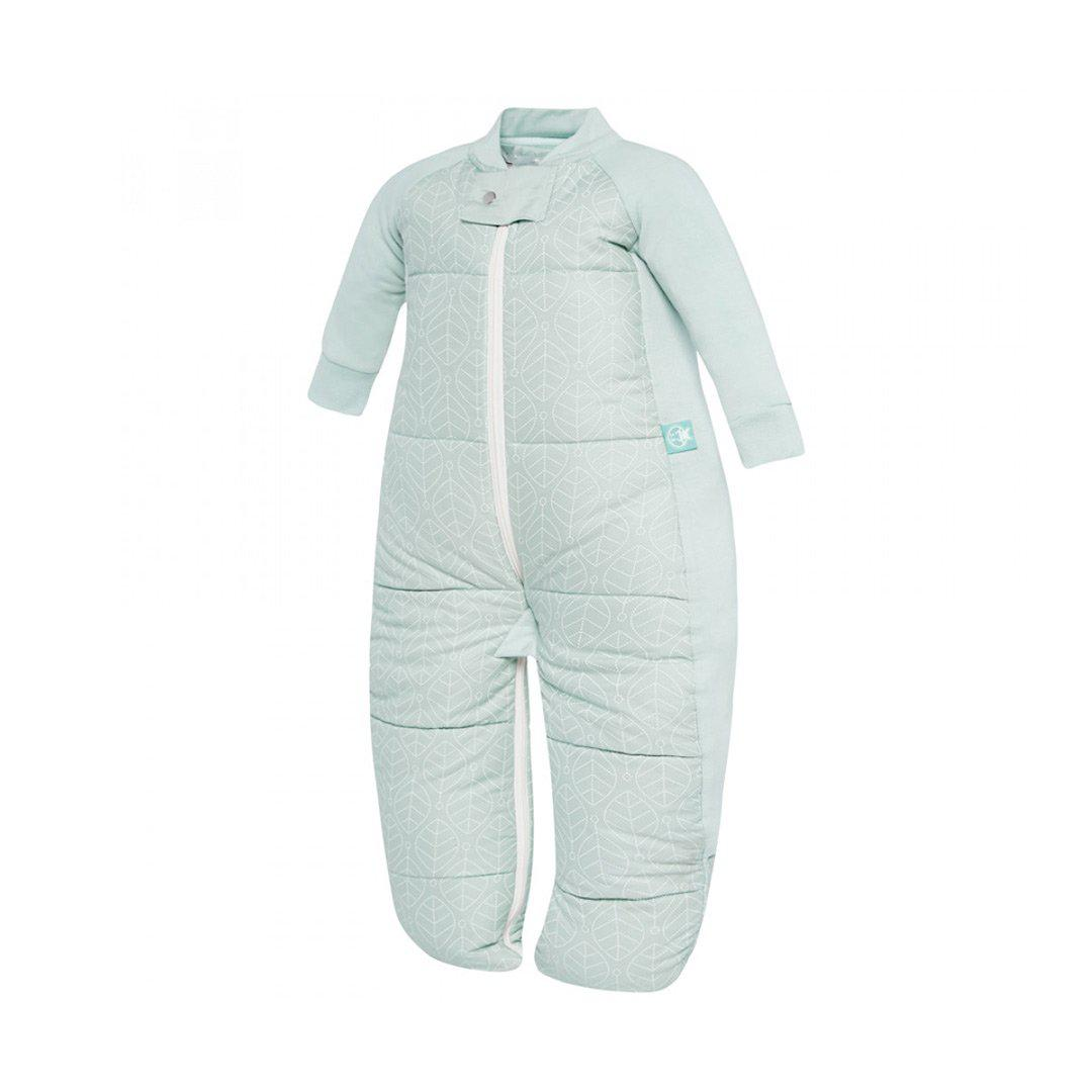 Ergopouch Sleep Suit Bag Tog 3 5 Mint Leaves Natural