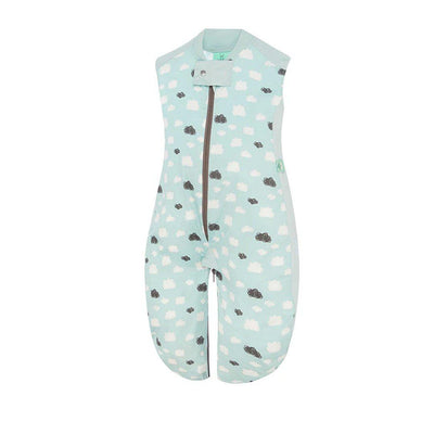 ergoPouch Sleep Suit - 0.3 TOG - Mint Clouds-Sleeping Bags- Natural Baby Shower