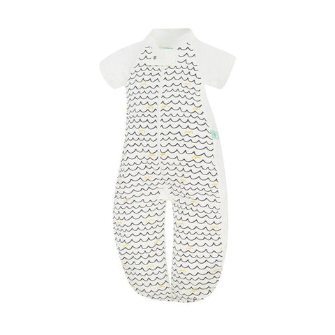 ergoPouch Sleep Suit - 1 TOG - Waves-Sleeping Bags-8-24m-Waves- Natural Baby Shower