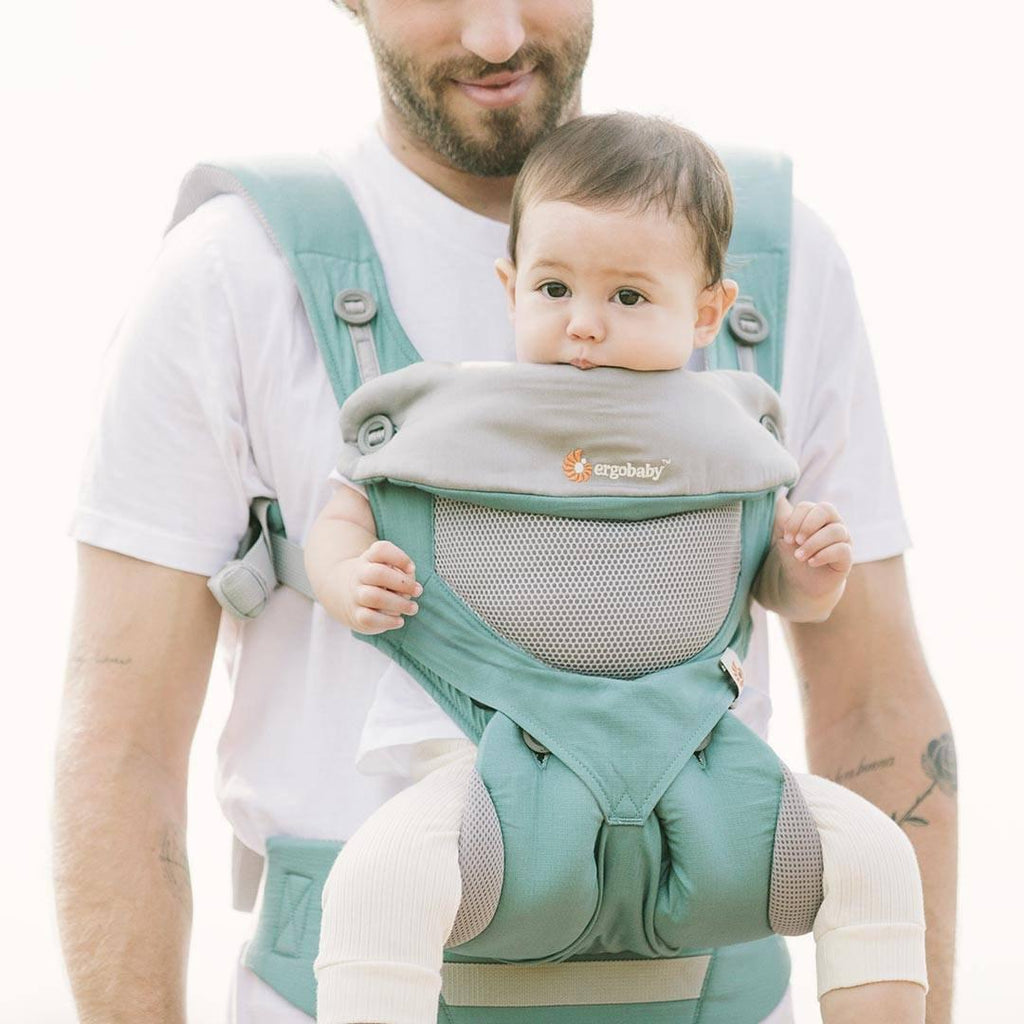 04a57d68799 ... Ergobaby Original Carrier 360 Cool Air - Icy Mint-Baby Carriers-Icy  Mint-