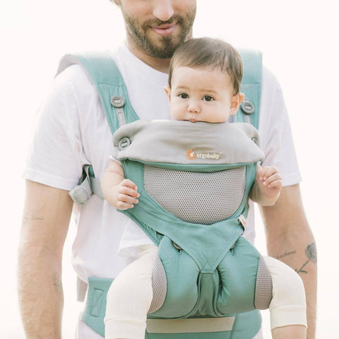 Ergobaby Original Carrier 360 Cool Air - Icy Mint-Baby Carriers-Icy Mint- Natural Baby Shower