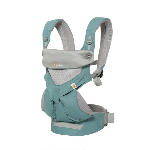 Ergobaby Four Position 360 Carrier - Cool Air Mesh - Icy Mint