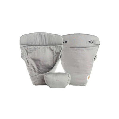 Ergobaby Easy Snug Original Infant Insert - Grey-Baby Carrier Inserts-Grey- Natural Baby Shower