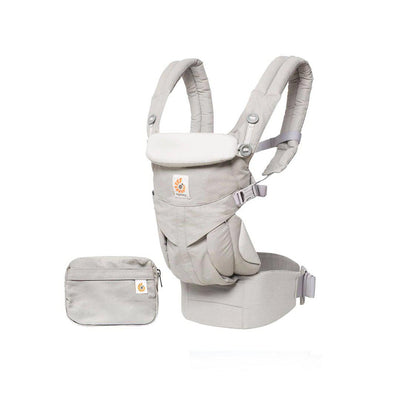 Ergobaby Omni 360 Carrier - Pearl Grey-Baby Carriers-Pearl Grey- Natural Baby Shower