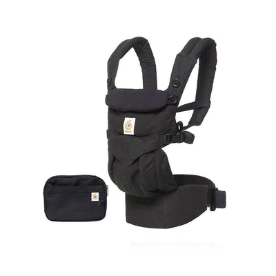 Ergobaby Omni 360 Carrier - Pure Black-Baby Carriers-Pure Black- Natural Baby Shower