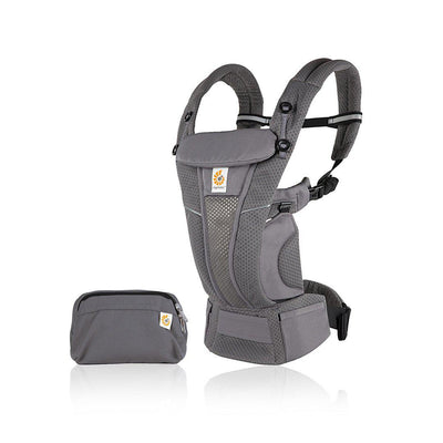 Ergobaby Omni Breeze Baby Carrier - Graphite Grey-Baby Carriers- Natural Baby Shower