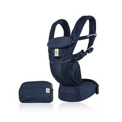 Ergobaby Omni Breeze Baby Carrier - Midnight Blue-Baby Carriers- Natural Baby Shower