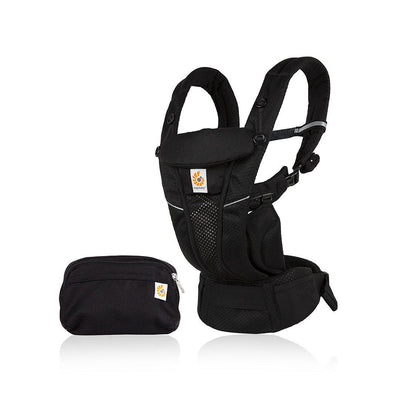 Ergobaby Omni Breeze Baby Carrier - Onyx Black-Baby Carriers- Natural Baby Shower