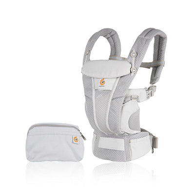 Ergobaby Omni Breeze Baby Carrier - Pearl Grey-Baby Carriers- Natural Baby Shower