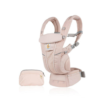 Ergobaby Omni Breeze Baby Carrier - Pink Quartz-Baby Carriers- Natural Baby Shower