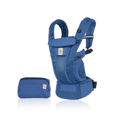 Ergobaby Omni Breeze Baby Carrier - Sapphire Blue-Baby Carriers- Natural Baby Shower