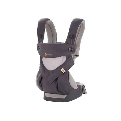 Ergobaby Original Carrier 360 Cool Air - Carbon Grey-Baby Carriers-Carbon Grey- Natural Baby Shower