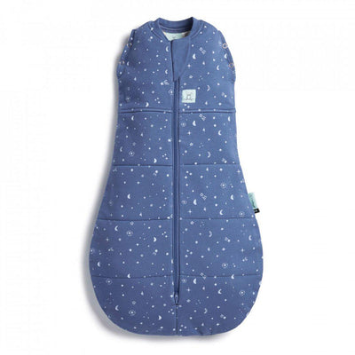 ergoPouch ErgoCocoon - 2.5 TOG - Night Sky-Swaddling Wraps- Natural Baby Shower