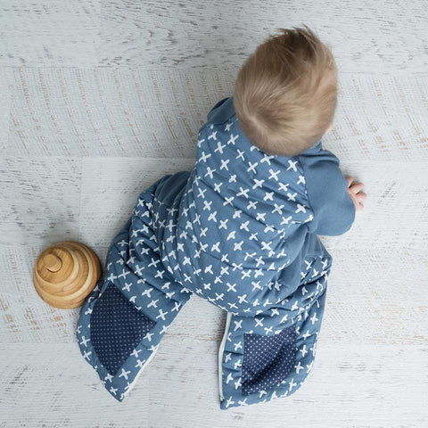 ergoPouch Sleep Suit Bag TOG 2.5 - Navy Cross Lifestyle