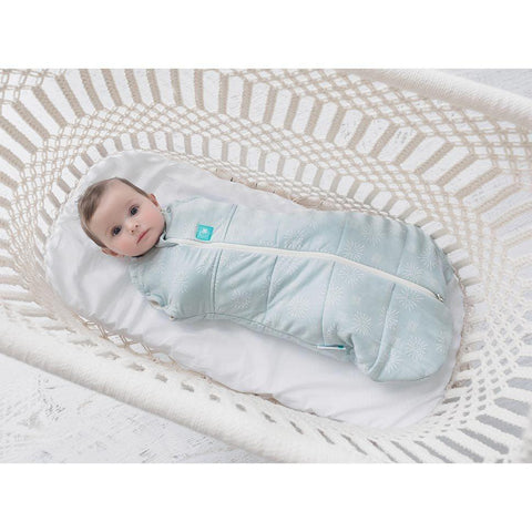 ergoPouch ErgoCocoon - 2.5 TOG - Mint-Swaddling Wraps- Natural Baby Shower