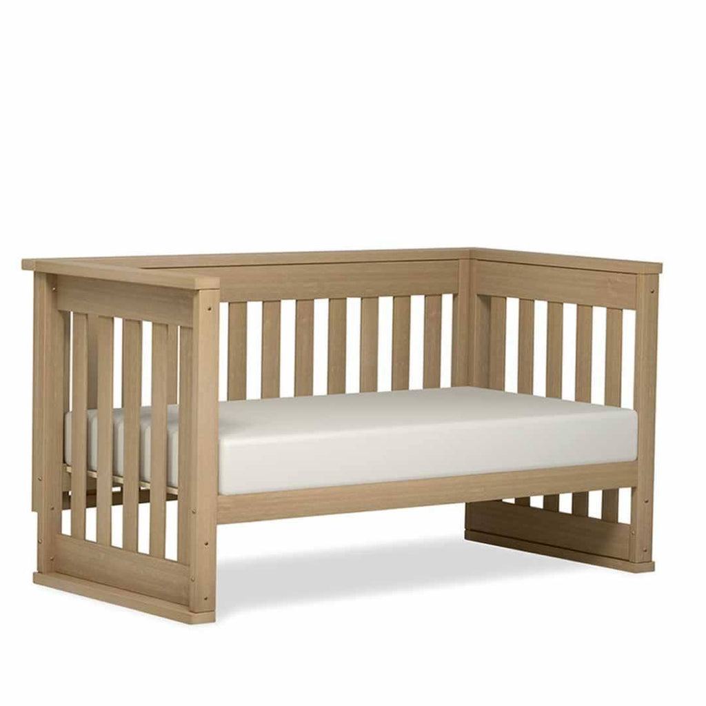 Boori Eton Convertibl Cot 2 Piece Nursery Set Natural