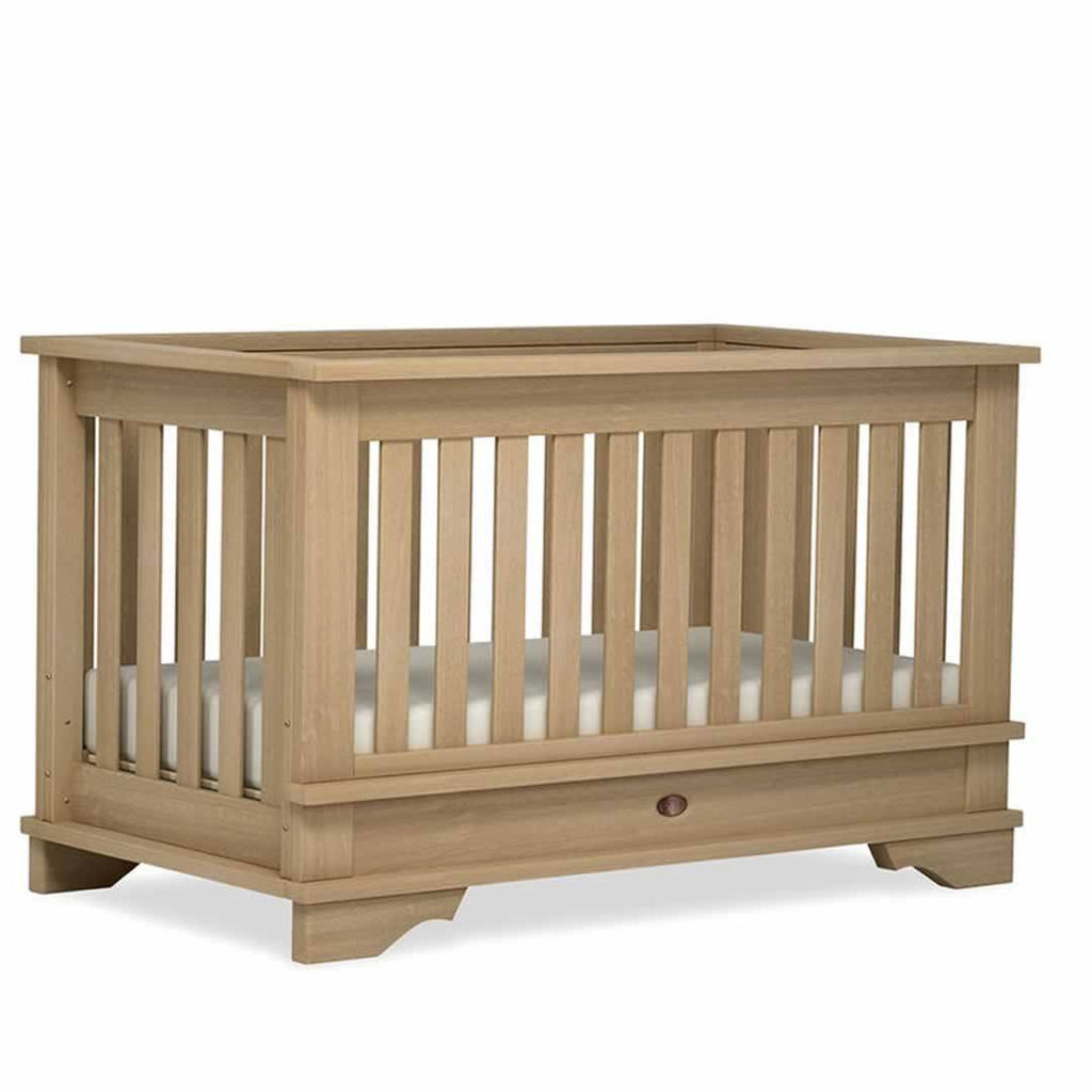 Boori Eton Convertible 2 Piece Nursery Set Cot Natural