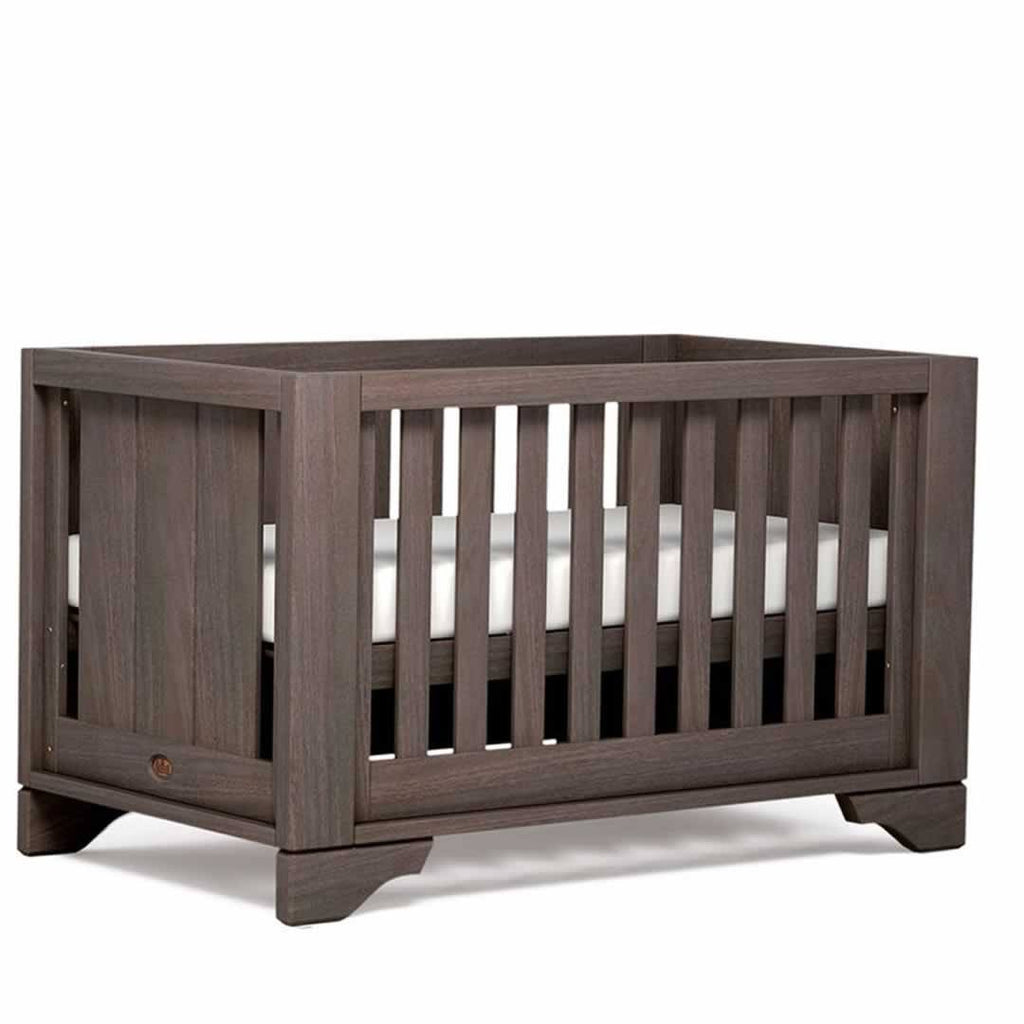 Boori Eton Expandable 3 Piece Nursery Set Cot Mocha