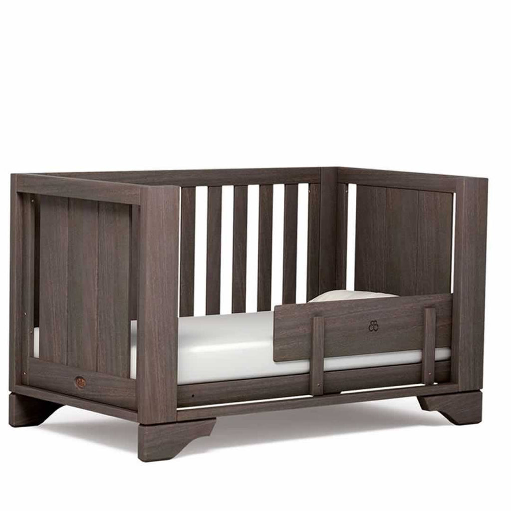 Boori Eton Expandable 3 Piece Nursery Set Cot in Mocha