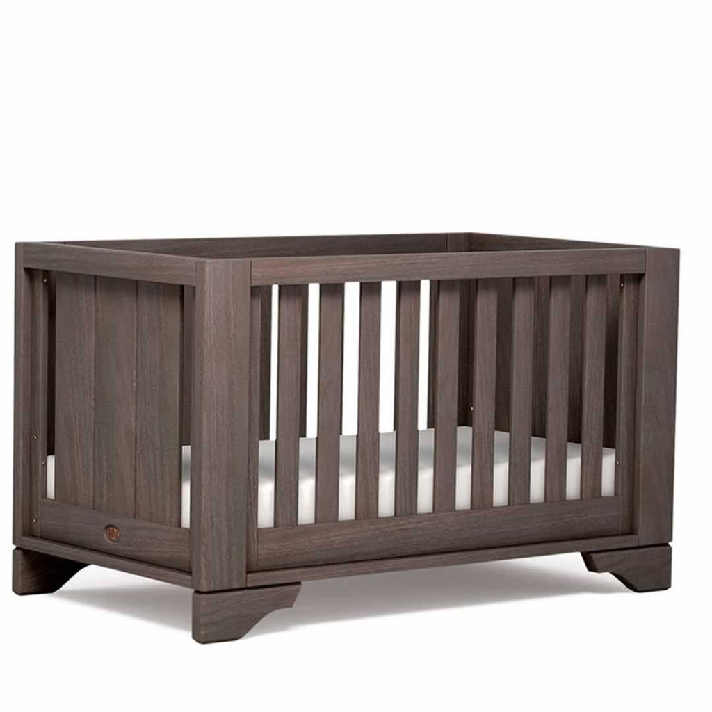 Boori Eton Expandable 2 Piece Nursery Set Cot - Mocha