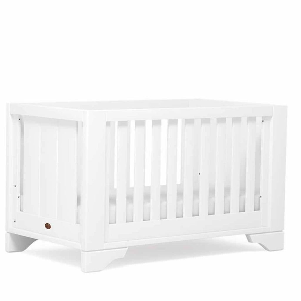 Boori Eton Expandable 3 Piece Nursery Set Cot - White