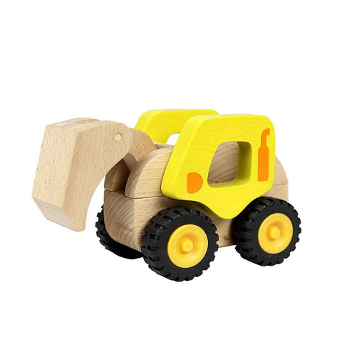 Masterkidz Wooden Excavator - Play Sets - Natural Baby Shower