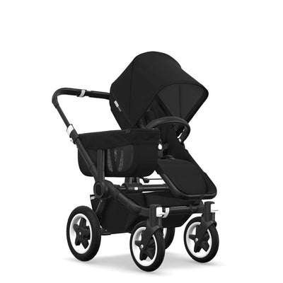 Bugaboo Donkey2 - Black with Black-Strollers-Mono-Black- Natural Baby Shower