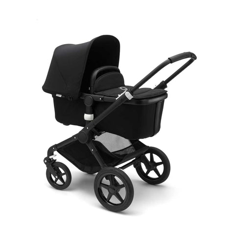 Bugaboo Fox Pushchair - Black with Black Carrycot