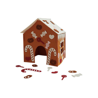 Fabelab DIY Gingerbread House Kit-Seasonal Decorations- Natural Baby Shower