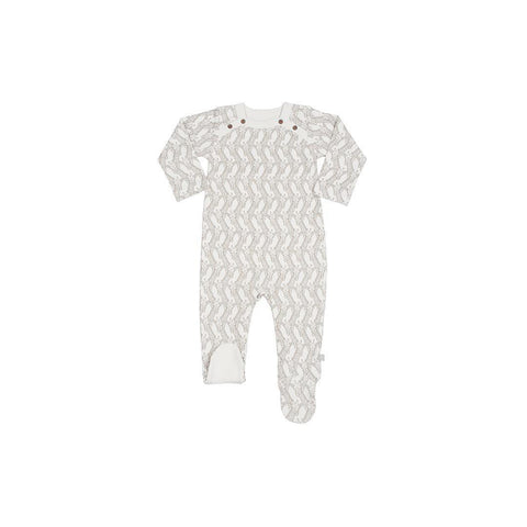Finn + Emma Footie - Giraffe - Babygrows & Sleepsuits - Natural Baby Shower
