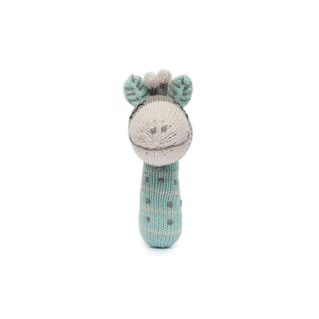 Finn + Emma Mini Rattle - Ami the Giraffe-Rattles- Natural Baby Shower