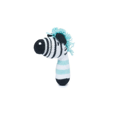 Finn + Emma Mini Rattle - Daisy the Zebra
