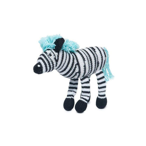 Finn + Emma Rattle Buddy - Daisy the Zebra