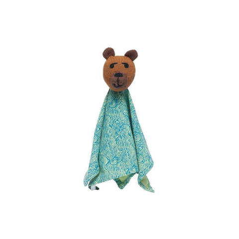 Finn + Emma Rattle Lovie - Fredrick Bear