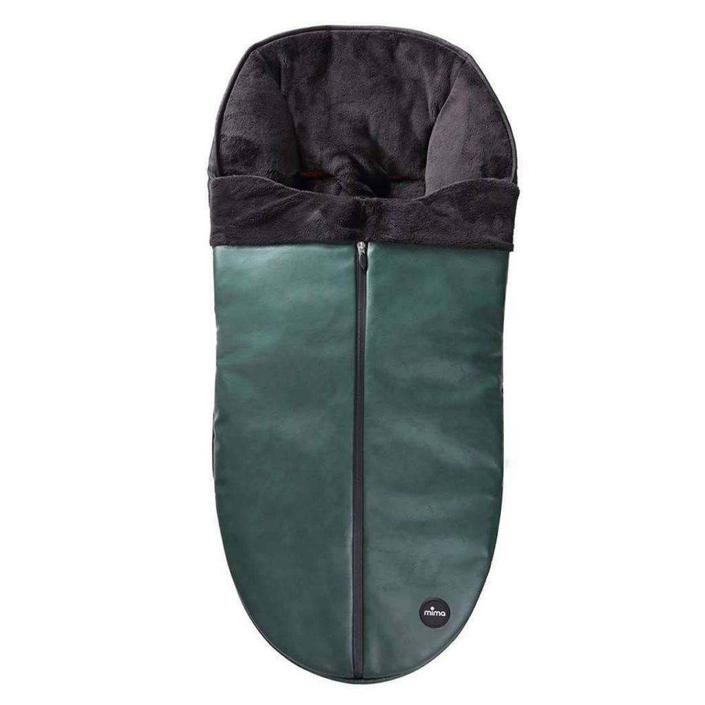 Mima Footmuff in British Racing Green