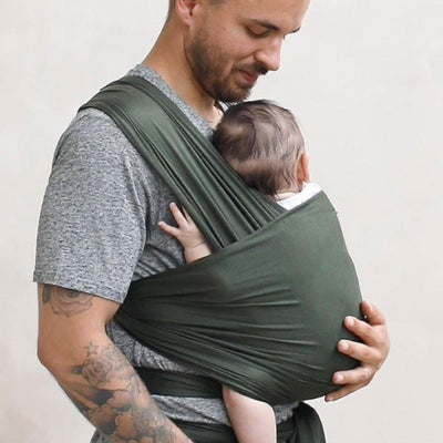 Freerider Co. Baby Wrap Carrier - Fern-Baby Carriers- Natural Baby Shower