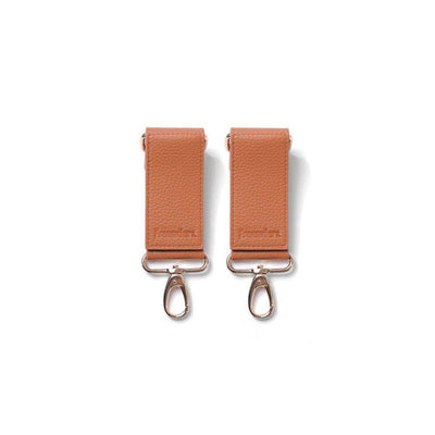 Freerider Co. Changing Bag Clips - Camel-Changing Bag Accessories- Natural Baby Shower