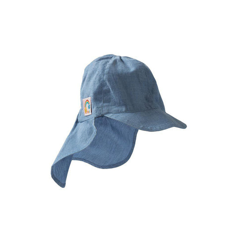 Hats - Frugi Chambray Legionnaires Hat - Chambray