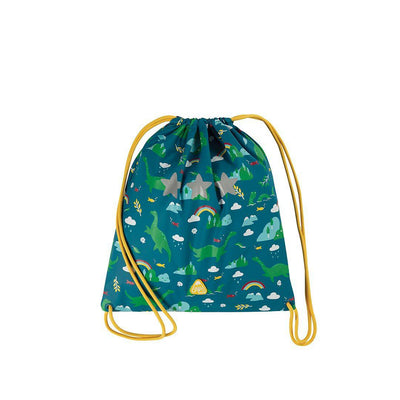 Frugi Good To Go Bag - Loch Blue Nessie-Children's Bags-Loch Blue Nessie- Natural Baby Shower