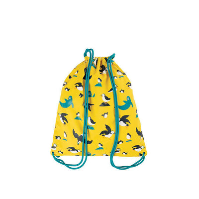 Frugi Good To Go Bag - Sunflower Puffling Away-Children's Bags-Sunflower Puffling Away- Natural Baby Shower